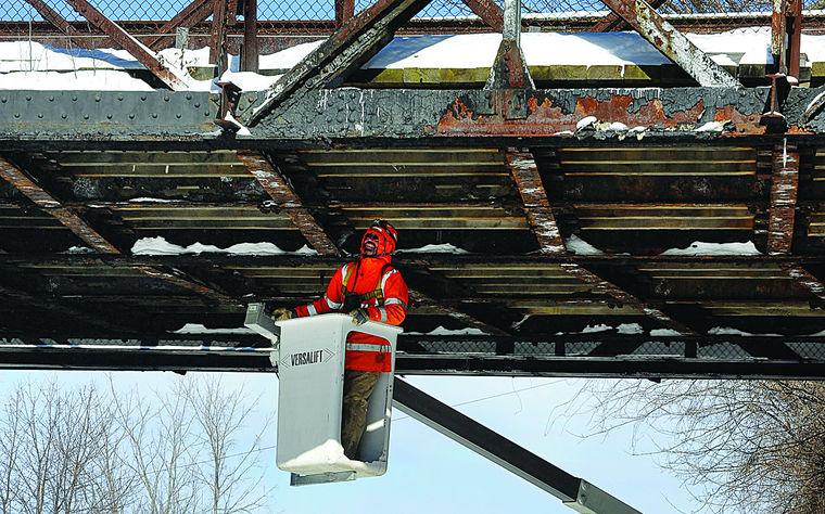 Engineers Inspect Ferry Street Bridge - Creighton Manning LLP