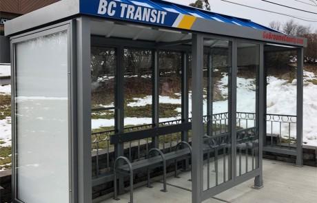 BC Transit Bus Stop