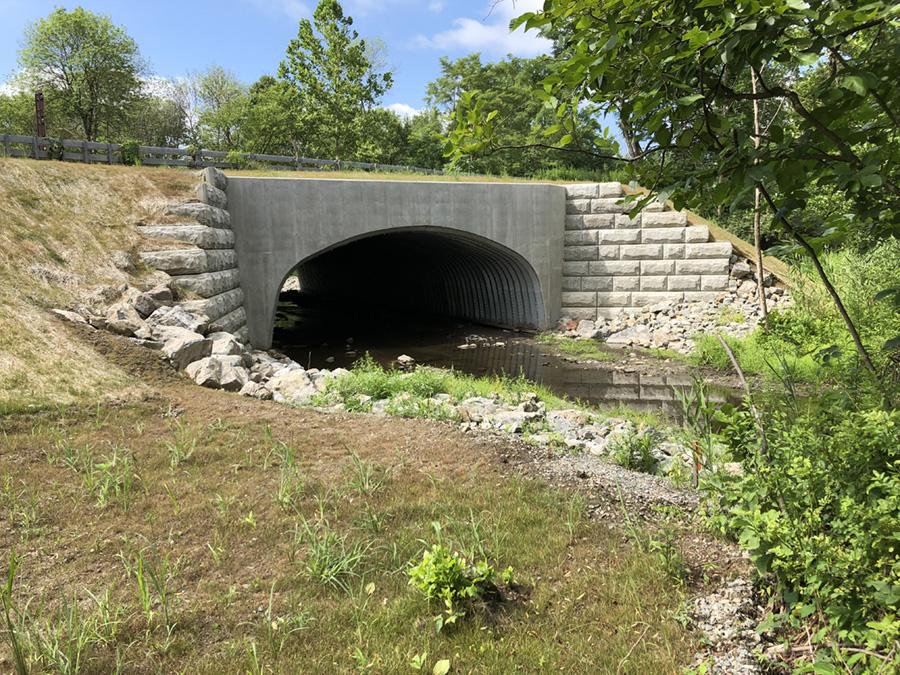 Bridge E-5 over Sylvan Lake