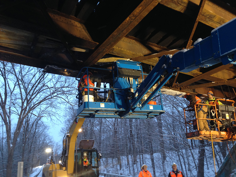 CP Rail over NY67 Emergency Work
