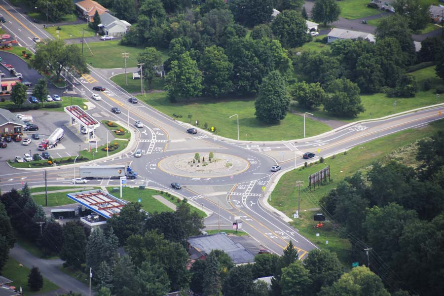 Couse Corners Roundabout Design