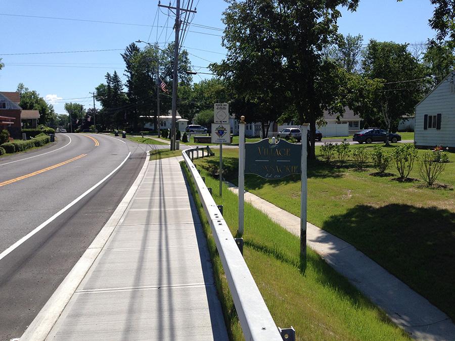 Coxsackie Sidewalk