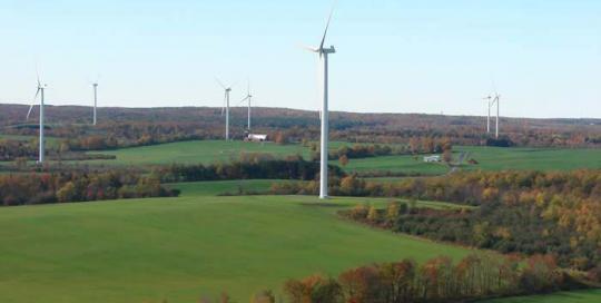 Hardscrabble Wind Power Project Site Design