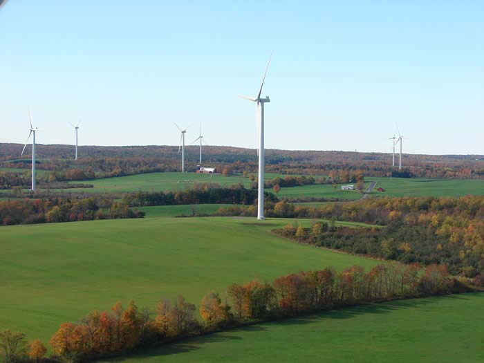 Hardscrabble Wind Power Project Site Design