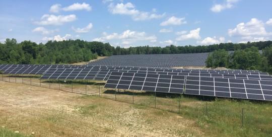 Milton Solar Array