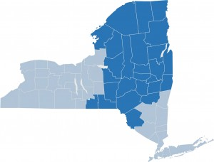 NYSDOT Regions 1279