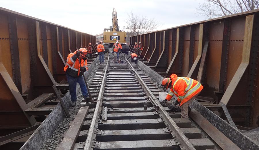Nott Street CP Rail