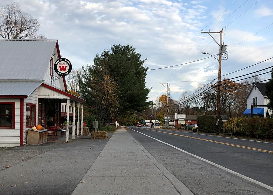 Palenville Sidewalk