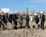 Rensselaer Waterfront Esplanade Groundbreaking