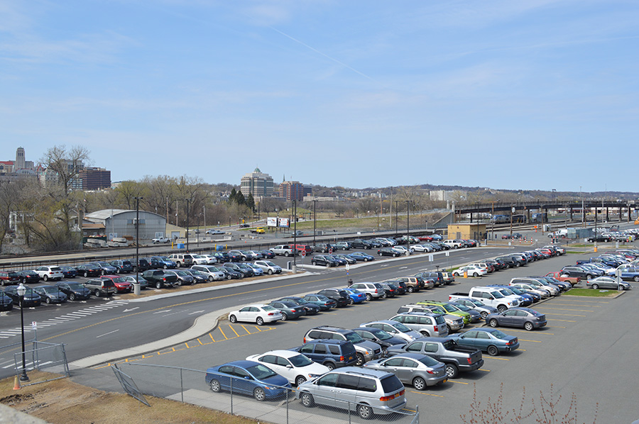Rensselaer Rail Station Parking Lot