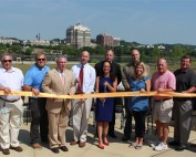 Rensselaer Waterfront Esplanade Ribbon Cutting