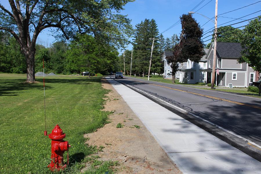 Voorheesville Pedestrian Connectivity